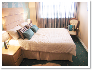 Bedroom Makeover after interior decor changed